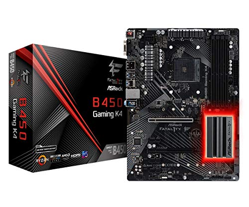 ASRock FATAL1TY B450 Gaming K4 motherboard from ASRock
