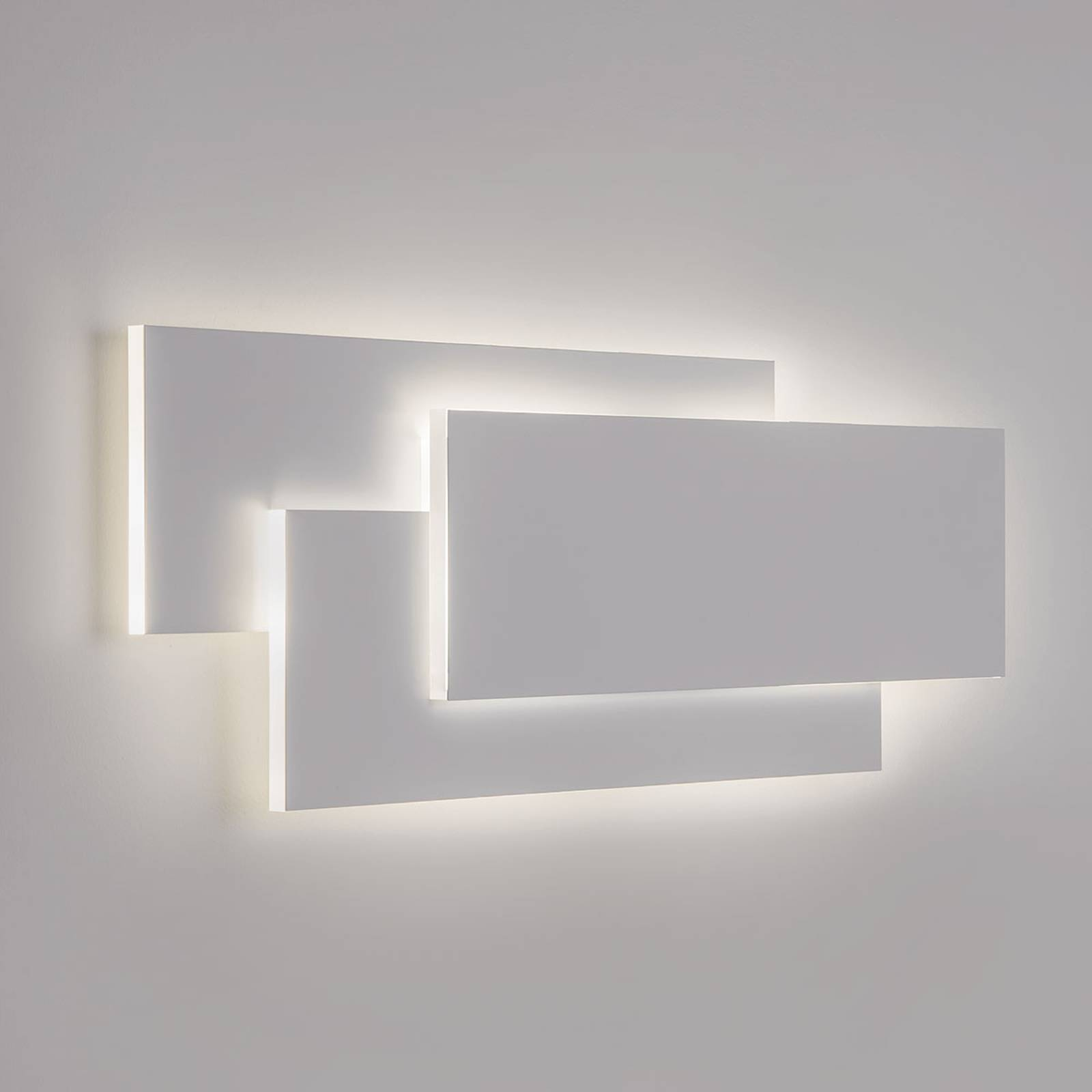 State-of-the-art LED wall light Edge in white from ASTRO