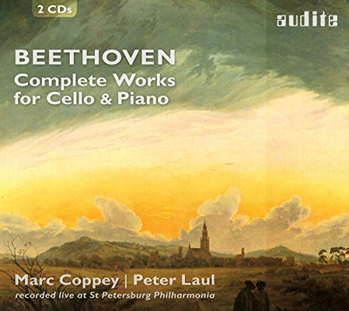 Beethoven: Complete Works For Cello & Piano from AUDITE