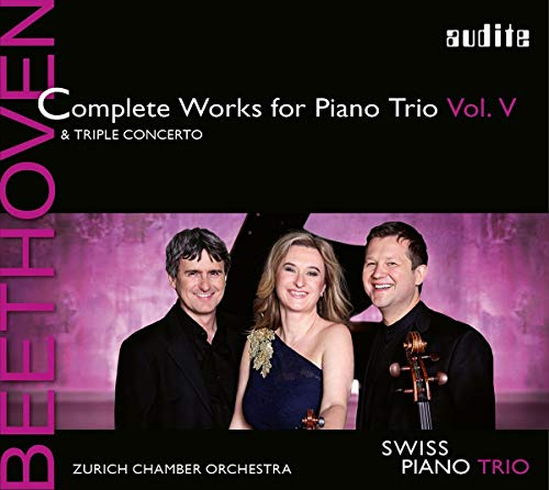 Beethoven: Complete Works for Piano Vol.V from AUDITE