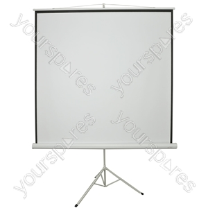 "84"" Manual Tripod Projector Screen - 1:1 - TPS84-1:1 from AV:Link"