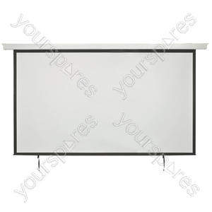 "Electric Projector Screens - 100"" 16:9 Motorised - EPS100-16:9 from AV:Link"