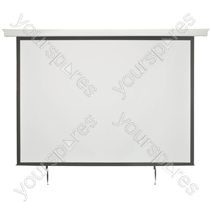 "Electric Projector Screens - 86"" 4:3 Motorised - EPS86-4:3 from AV:Link"