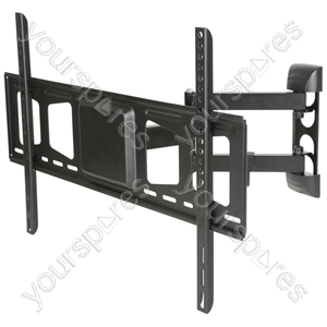 "Full Motion Double Arm TV Wall Bracket 32"" to 60"" - FM Mount VESA 600x400 - USC601 from AV:Link"