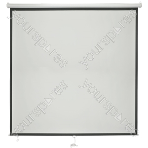 "Manual Projector Screens - 84"" 1:1 - MPS84-1:1 from AV:Link"