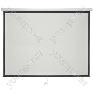 "Manual Projector Screens - 86"" 4:3 - MPS86-4:3 from AV:Link"