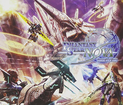 Game Music (Music By Motoi Sakuraba) - Phantasy Star Nova Original Soundtrack (3CDS) [Japan CD] WWCE-31357 from AVEX