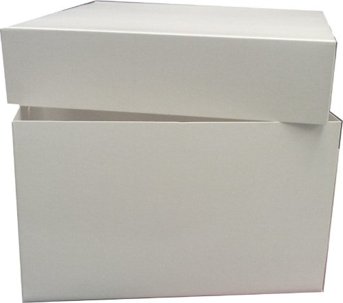 "8"" White Cake Box for Weddings, Birthdays and Christmas from AVM"