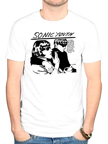 Official Sonic Youth Goo T-Shirt White from AWDIP