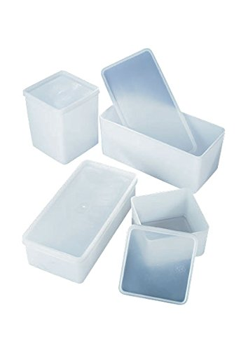 AZLON BWY034 Plastic, Airtight Boxes, HDPE, Length: 210 mm, Width: 100 mm, Height: 65 mm from AZLON