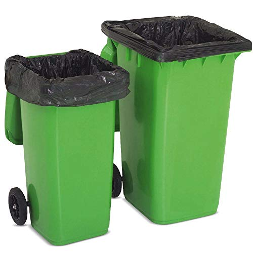 Abbey Wheelie Bin Liners / Sacks / Refuse Bags For Rubbish On a Roll Pack of 50 from Abbey