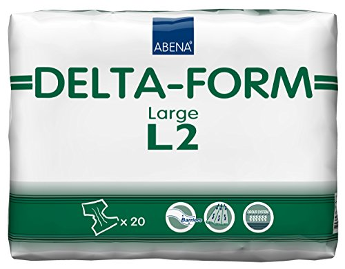 Abena Delta-Form Plastic Backed-Large Number 2 2900 ml 100-150 cm Protective Briefs from Abena
