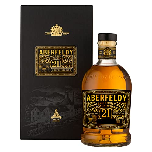 Aberfeldy 21 Year Old Highland Single Malt Scotch Whisky 70cl with Gift Box from Aberfeldy
