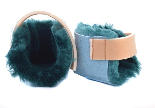 Ability Superstore Green Sheepskin Heel Protectors from Ability Superstore
