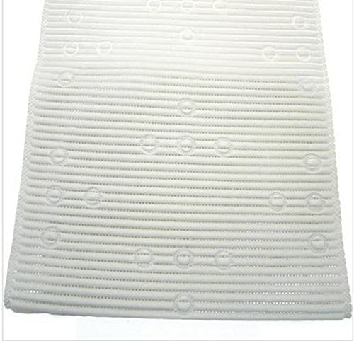Ability Superstore - White Soft Feel Non-slip Bath & Shower Mat 27.5 x 16 inch from Ability Superstore