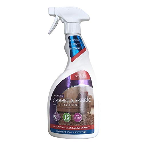Acana Carpet and Fabric Moth Killer with Lavender Freshener Spray - 500 ml from Acana