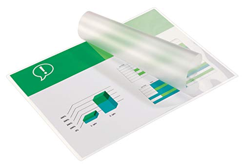 GBC A4 2x125 Micron Gloss Laminating Pouches, Pack of 100, 3200723 from GBC