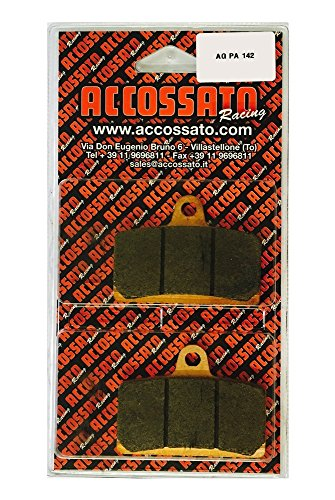 ACCOSSATO Brake Pad agpa142st, Rieju > RS3 125, 125 (2010) from Accossato