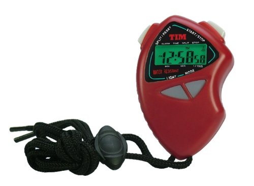 Acctim Tim901r Sprint El Backlit Stopwatch, Red from Acctim