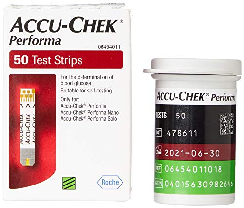 Accu-Check Performa Tablet Strips (Pack of 50) from Accu Chek