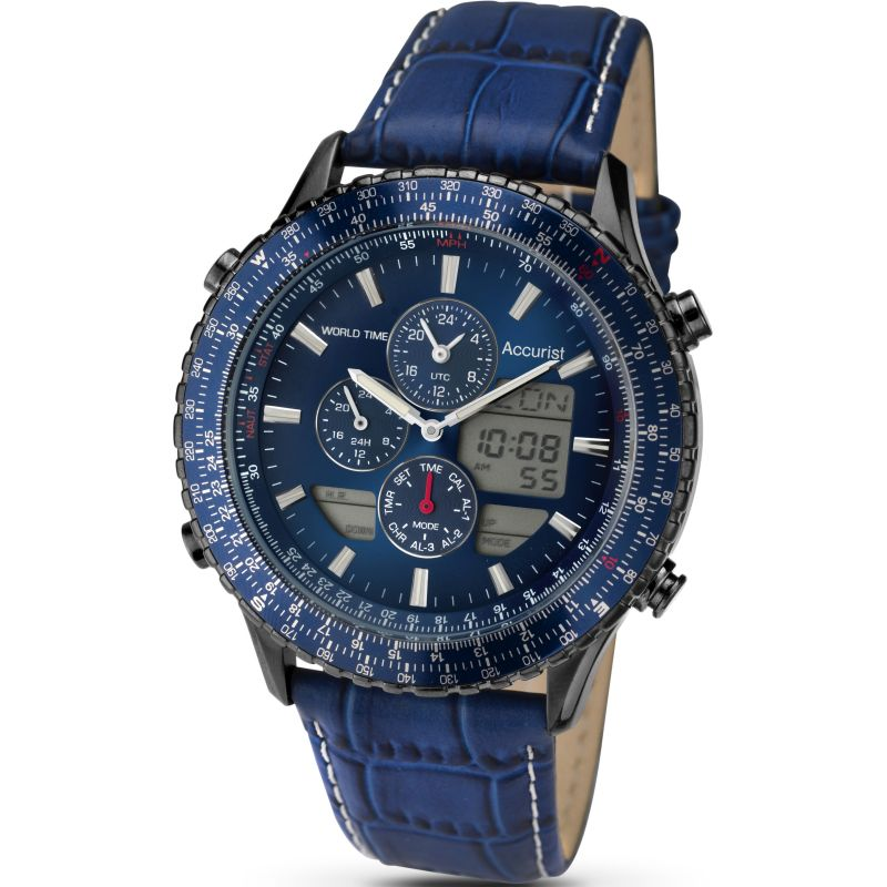 Mens Accurist Alarm Chronograph Watch from Accurist
