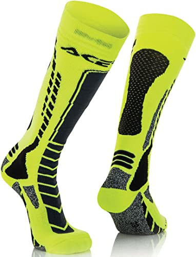 Moto Cross/Off Road Acerbis MX Pro Socks L-XL Black-Yellow from Acerbis