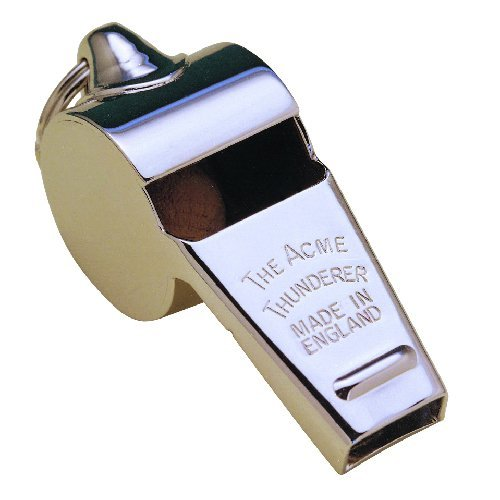 ACME Thunderer 60.5 Metal Official Referee Whistle from Acme Made