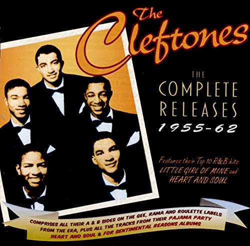 The Cleftones Complete Releases 1955-62 from Acrobat