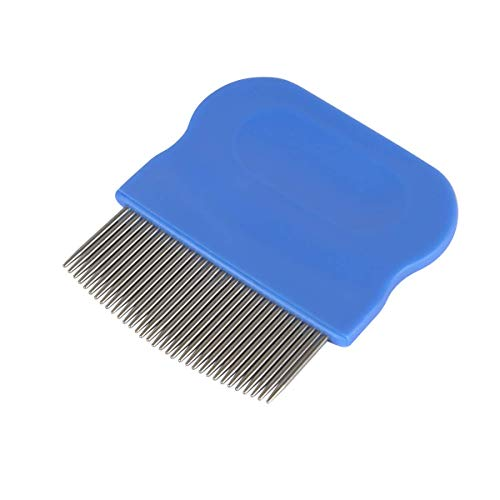Acu-Life Short Pin Lice Hair Comb | Effective Head Lice and Nit Removal | For Baby, Kids and Adults from Acu-Life