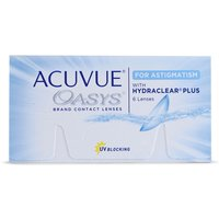 Acuvue Oasys for Astigmatism 6 Pack Contact Lenses from Acuvue