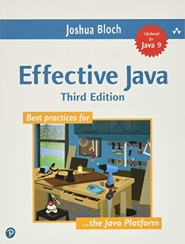 Effective Java from Addison-Wesley Professional