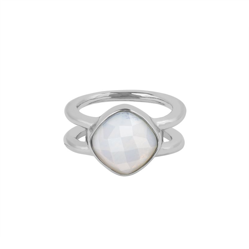 Adore Cushion Stone Ring from Adore Jewellery