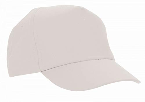 b59d5842 Adventure Togs Childrens Baseball Cap/Kids Sun Hat - School, Holidays and  Outdoors White