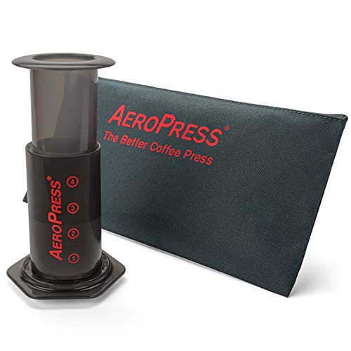 AeroPress 82R08 Coffee Maker with Tote Bag - Black from AeroPress