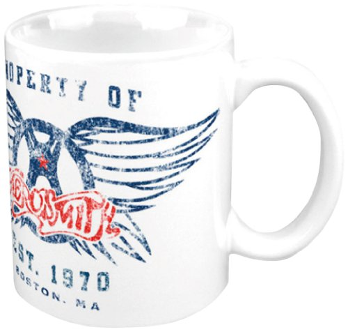 Aerosmith Property of Logo Boxed Mug from Capitol