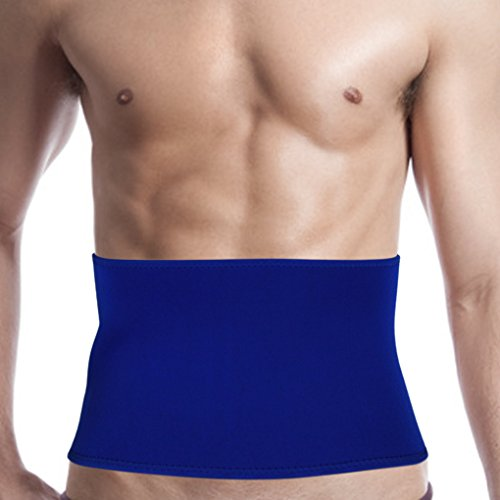 Men Women Neoprene Compression Waist Trimmer Belt Kidney Binder Lower Back Brace Lumbar Abdominal Support Breathable Sweat Slimming Band Strap Weight Loss Ab Wrap from Afinder