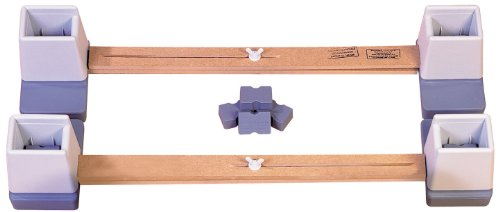 Aidapt Adjustable Linked Bed Raiser for Double Beds (Eligible for VAT relief in the UK) from Aidapt
