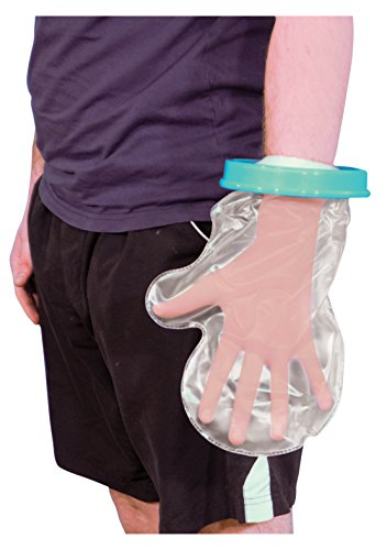 Aidapt Waterproof Cast and Bandage Protector for use whilst Showering/Bathing - Adult Hand from Aidapt