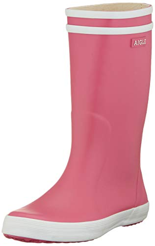 Aigle Unisex Kids' Lolly Pop Wellington Boots, Pink (New Pink), 7.5 UK Child from Aigle