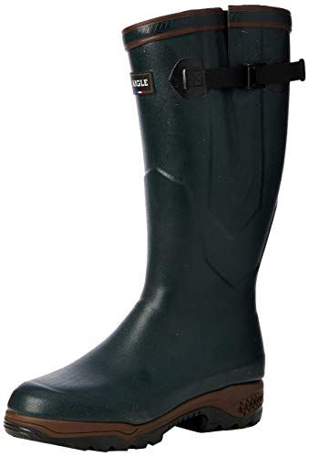 Aigle PARCOURS 2 ISO, Unisex Adults' Wellington Boots, Green (Bronze), 7 ½ UK (41 EU) from Aigle