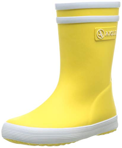 Eagle Baby Flac, Mixed Rain Boots Child - Yellow (Yellow New),4 ½ Child UK (21 EU) from Aigle