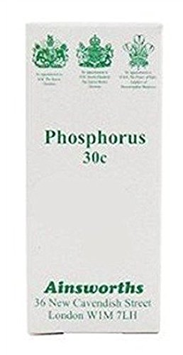 Ainsworths 30C Phosphorus Homoeopathic Remedy - Pack of 120 Tablets from Ainsworths