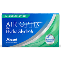 AIR OPTIX Plus HydraGlyde for Astigmatism 6 pack Contact Lenses from Air Optix