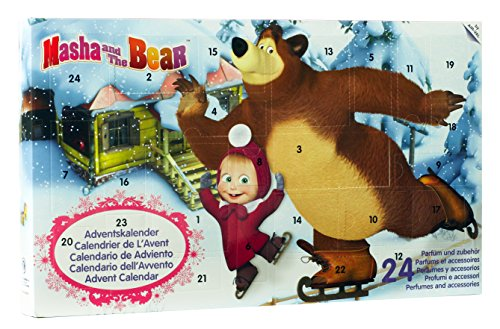 Masha and the Bear Advent Calendar 2016, 1x Pack (1 x Pack of 24) from Air Val