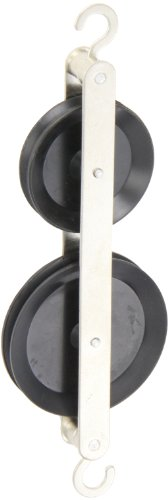 Ajax Scientific ME415-0002 Plastic Double Tandem Pulley from Ajax Scientific