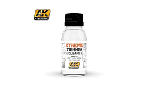 AK Interactive - 100ml Extreme Cleaner (For Extreme Metal Colour range) from Ak interactive
