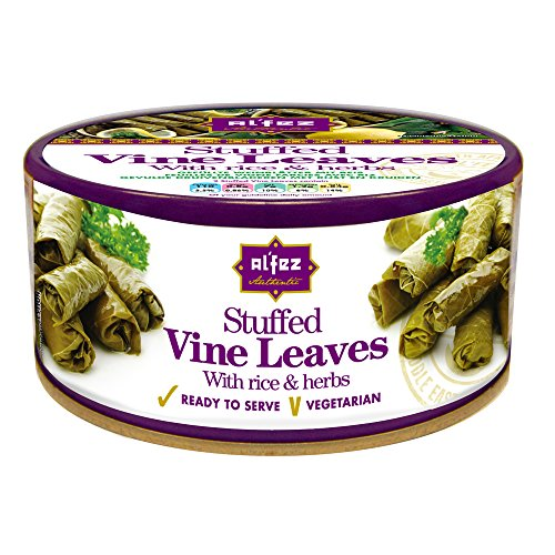 Al'fez Stuffed Vine Leaves with Rice and Herbs 280 g (PACK OF 2) from Al'Fez