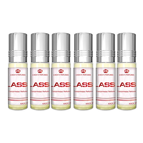 Classic Perfume Oil - 6 x 6ml by Al Rehab from Al Rehab