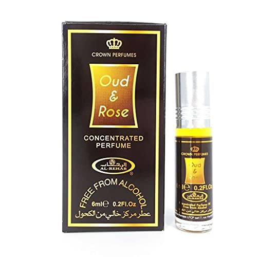 Dehn Al-Oud Perfume Oil - 6ml by Al Rehab from Al Rehab