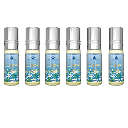 Jasmin Perfume Oil - 6 x 6ml by Al Rehab from Al Rehab